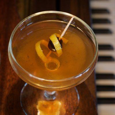 Bijou Cocktail Detail