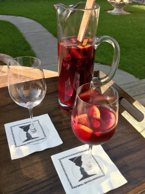 Picture of a Pitcher of Sangria