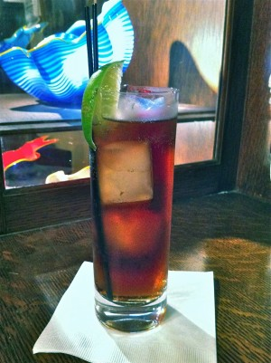 How to make coca cola for White rum with coke