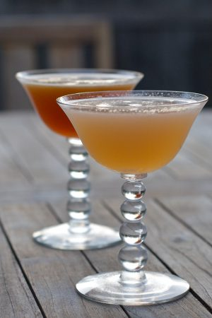 Maplewood and Edgewood cocktails