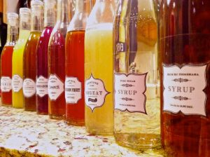 Assorted Syrups