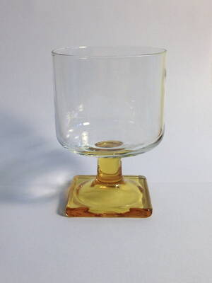 Cocktail, Square Amber Foot