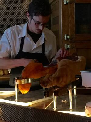 Ham service at Hamlet