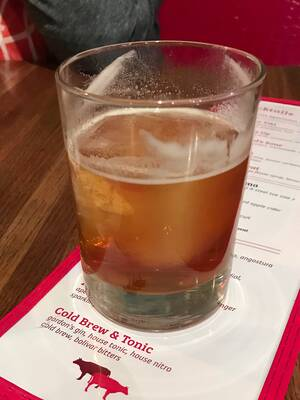 Red Cow Cold Brew & Tonic